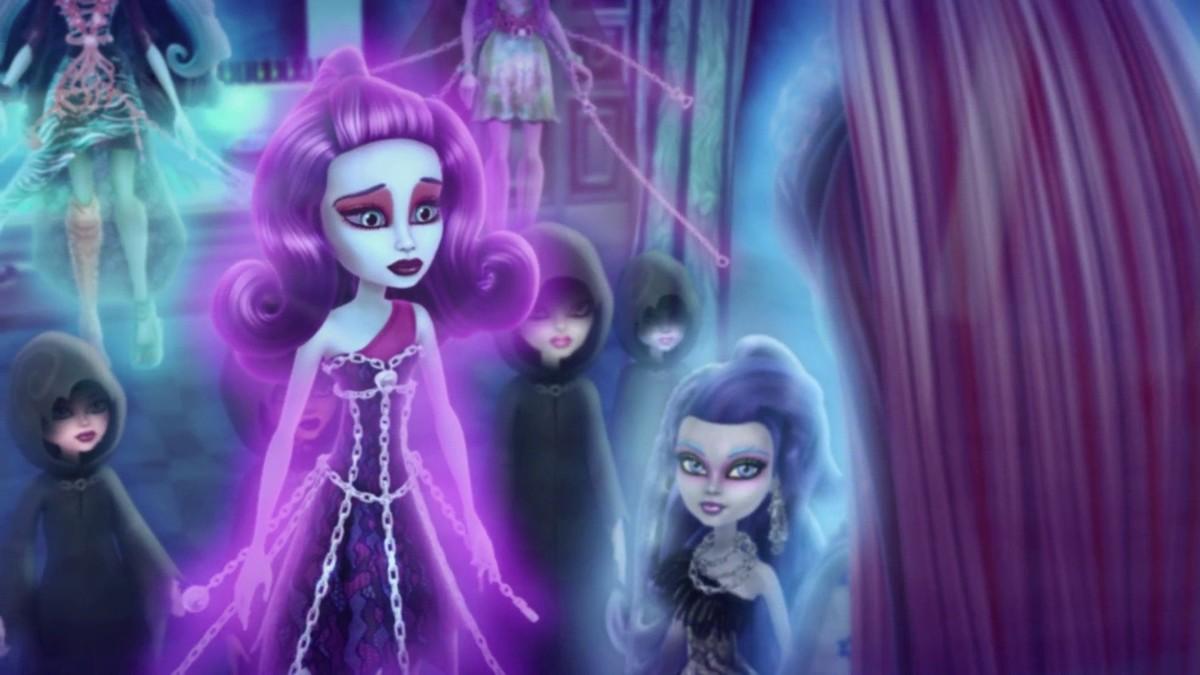 Картинки из школы монстров призрачного племени